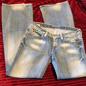 BIG STAR light wash blue denim jeans 29 8
